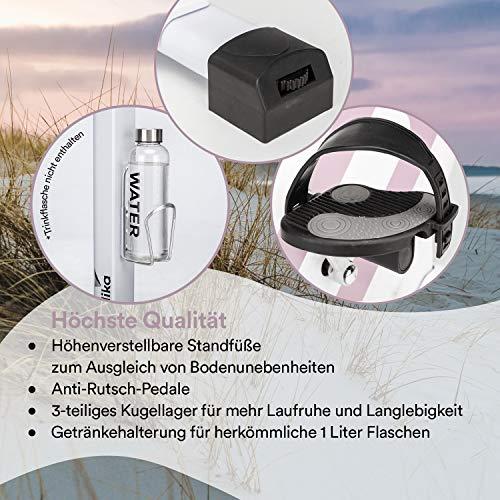 skandika Ergometer Hometrainer Elskling, Auswahl aus verschiedenen Sätteln, Magnetbremssystem, 11 kg Schwungmasse, 24 Trainingsprogramme, Tablet-Halterung, Bluetooth und App-Steuerung - 6