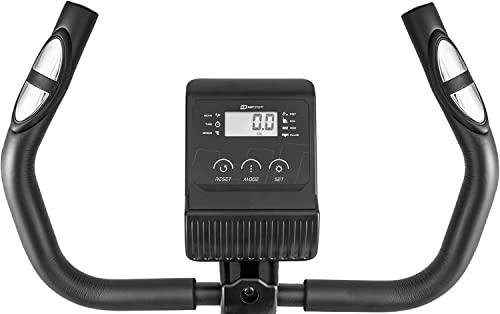 Hop-Sport HS-015H Heimtrainer Fahrrad für Zuhause - kompaktes Fitnessbike ideal für Senioren - Fitnessfahhrad mit Trainingscomputer für EIN max. Nutzergewicht von 120kg Limettengrün - 5