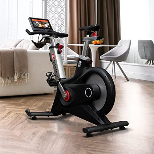 AsVIVA Indoor Cycle Speedbike S17 Studio Pro Bluetooth, 28kg Schwungmasse, computergesteuertes Bremssystem, leiser Riemenantrieb, SPD-klick Pedale, Pulsempfänger inkl. Polar Pulsgurt, Heimtrainer - 4