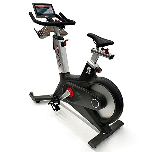 AsVIVA Indoor Cycle Speedbike S17 Studio Pro Bluetooth, 28kg Schwungmasse, computergesteuertes Bremssystem, leiser Riemenantrieb, SPD-klick Pedale, Pulsempfänger inkl. Polar Pulsgurt, Heimtrainer - 6