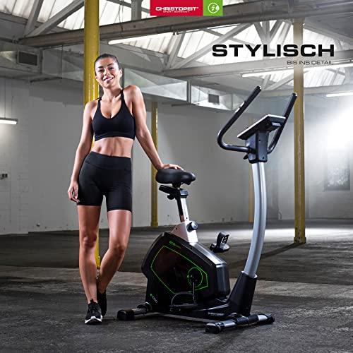 Christopeit Ergometer Eco 1000 mit KinoMapp APP & Generatortechnik - 7
