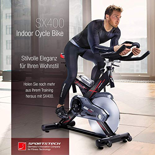 Sportstech Profi Indoor Cycle SX400 - 8