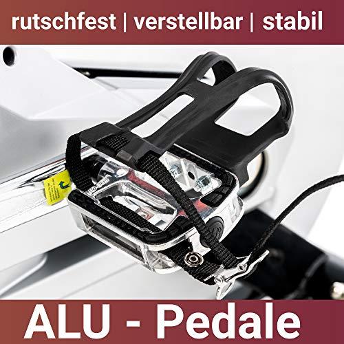 Fuel Fitness IF700 Indoor Cycle, Indoor Cycle für zuhause, 20kg Schwungrad, leiser Riemenantrieb, LCD-Radcomputer mit App-Anbindung, optimaler Rundlauf, Nutzergewicht bis 150kg - 7