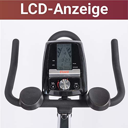 Fuel Fitness IF300 Indoor Cycle, Indoor Cycle für zuhause, 18kg Schwungrad, Kettenantrieb, LCD-Radcomputer mit App-Anbindung, optimaler Rundlauf, Nutzergewicht bis 125kg - 3