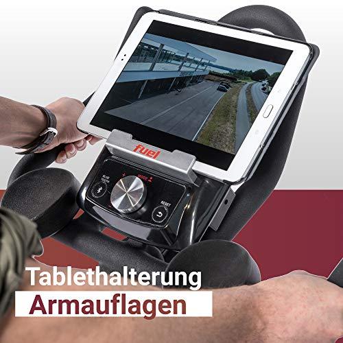 Fuel Fitness IF300 Indoor Cycle, Indoor Cycle für zuhause, 18kg Schwungrad, Kettenantrieb, LCD-Radcomputer mit App-Anbindung, optimaler Rundlauf, Nutzergewicht bis 125kg - 4