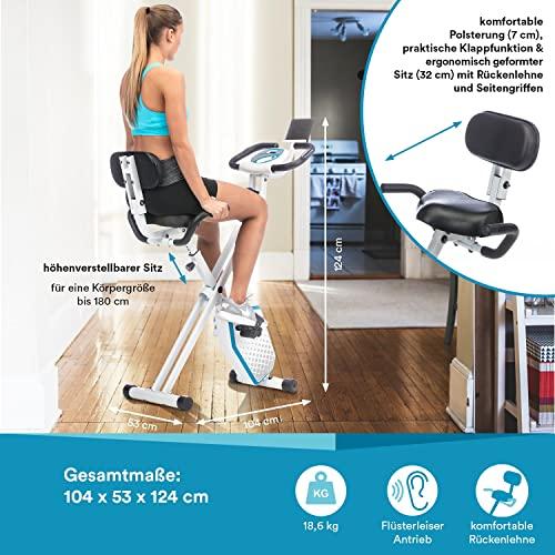 skandika Foldaway X-1000 Plus Fitnessbike - 5