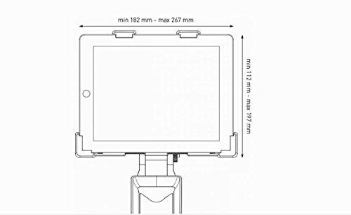 Tacx Zubehör Cycletrainer Halterung für Tablet - 3
