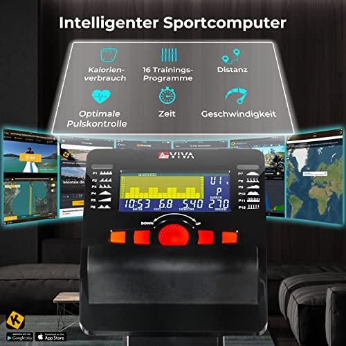 Liegeergometer Heimtrainer AsVIVA R7 mit APP-Bluetooth - 3