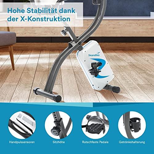 skandika Foldaway X-2000 Fitnessbike - 7