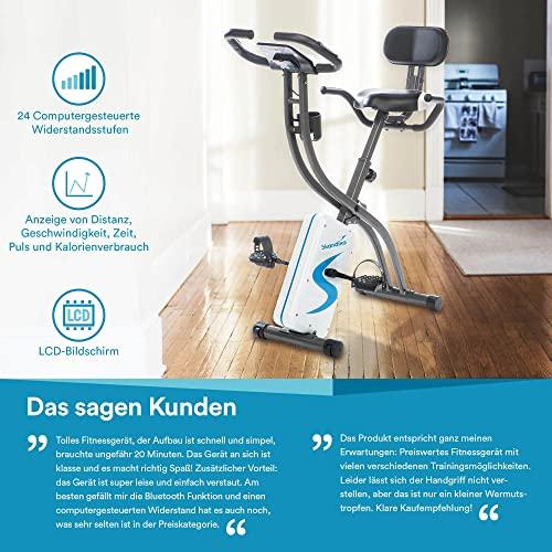 skandika Foldaway X-2000 Fitnessbike - 8