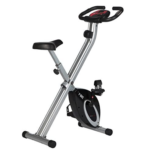 Ultrasport F-Bike, Heimtrainer, faltbares Fitnessfahrrad