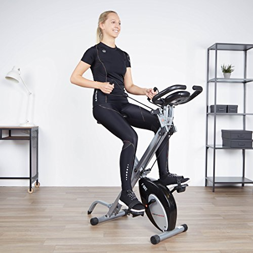 Ultrasport F-Bike Zubehör Set, Heimtrainer Ausrüstung, Zubehör für Fahrradtrainer, Fitnessfahrrad, Fitnessbike, Trainingserweiterung bestehend aus F-Bike Widerstandsbändern und Stütze - 3