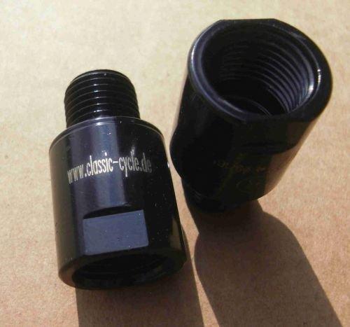 Pedal Gewinde Adapter 1/2 – 9/16 schwarz - 2