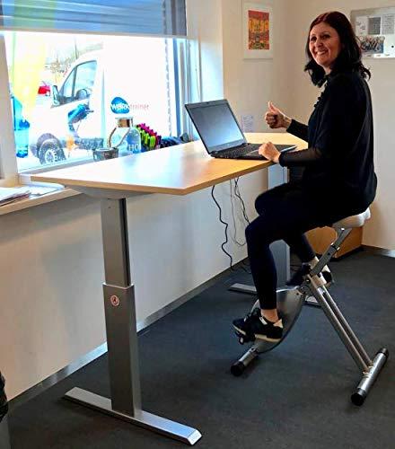 Deskbike 8 Farben, Halten Sie sich bei der Arbeit fit met dem Deskbike (ROT) - 5