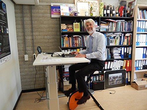 Deskbike 8 Farben, Halten Sie sich bei der Arbeit fit met dem Deskbike (ROT) - 7