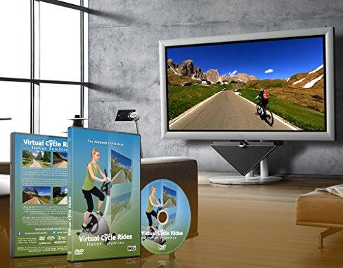 Virtuelle Fahrradstrecken – Italienische Dolomiten – für Indoor-Cycling - 7