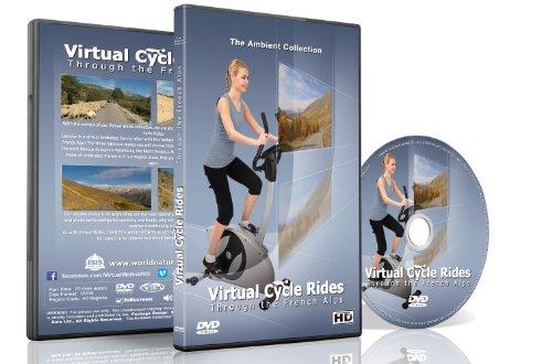 Virtuelle Fahrradstrecken - Durch die französischen Alpen