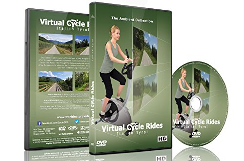 Virtuelle Fahrradstrecken - Italien Tirol - für Indoor-Cycling