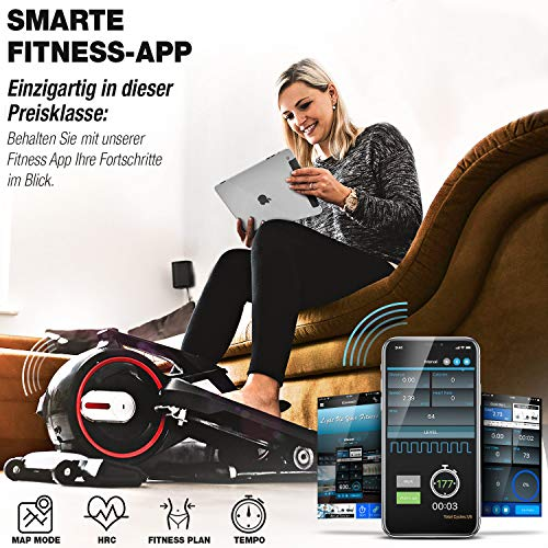 Sportstech Premium Mini-Heimtrainer DFX mit App - 4