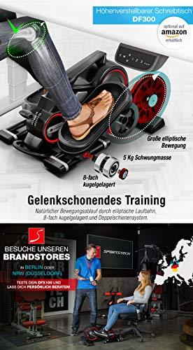 Sportstech Premium Mini-Heimtrainer DFX mit App - 5