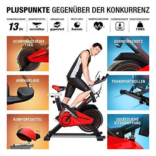 Sportstech Profi Indoor Cycle SX100 - 4