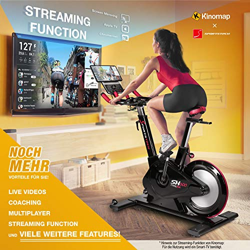 Sportstech SX600 Elite Indoor Cycle - 3