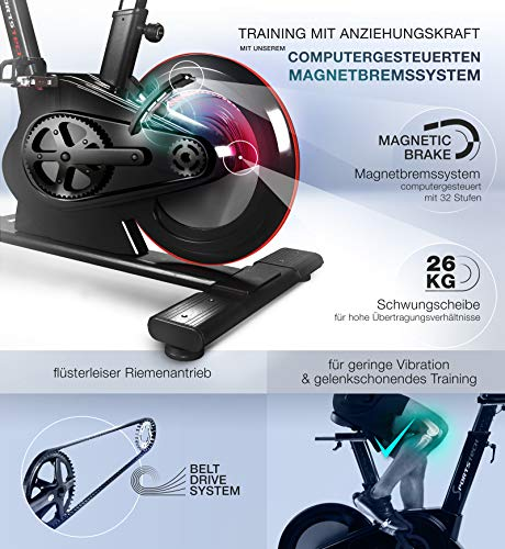 Sportstech SX600 Elite Indoor Cycle - 4