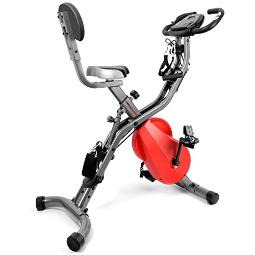 Ultrasport  F-Bike 700BS Pro Heimtrainer mit Trainingscomputer und Handpulssensoren