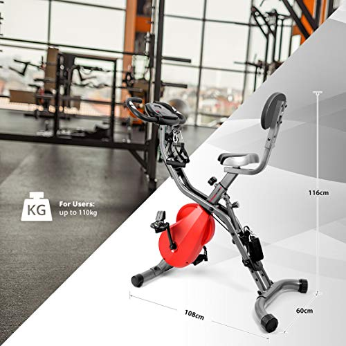 Ultrasport F-Bike 700BS Pro Heimtrainer mit Trainingscomputer und Handpulssensoren - 4
