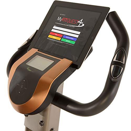 Exerpeutic Gold 575 XLS Bluetooth Smart Technology Faltbares Standrad für Heimtrainer - 6