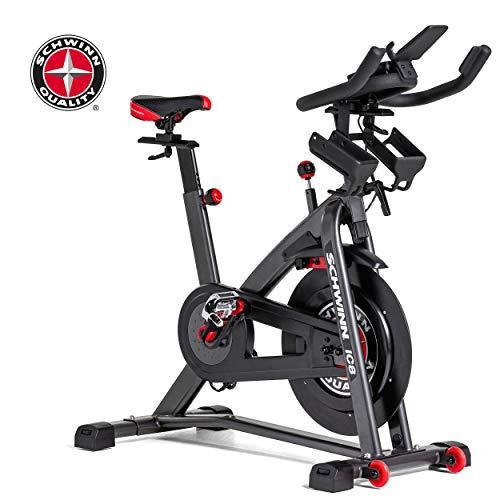 Schwinn Speedbike IC8 mit Bluetooth Indoor Cycle mit Magnetwiderstand, 100-fache Widerstandseinstellung mit Digitalanzeige, Zwift App. kompatibel, SPD-Klickpedale, max. Benutzergewicht 150 kg - 11