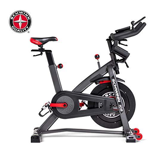Schwinn Speedbike IC8 mit Bluetooth Indoor Cycle mit Magnetwiderstand, 100-fache Widerstandseinstellung mit Digitalanzeige, Zwift App. kompatibel, SPD-Klickpedale, max. Benutzergewicht 150 kg - 12