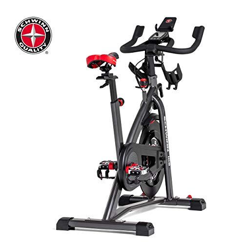 Schwinn Speedbike IC8 mit Bluetooth Indoor Cycle mit Magnetwiderstand, 100-fache Widerstandseinstellung mit Digitalanzeige, Zwift App. kompatibel, SPD-Klickpedale, max. Benutzergewicht 150 kg - 14