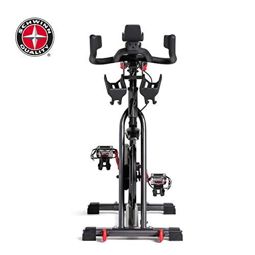 Schwinn Speedbike IC8 mit Bluetooth Indoor Cycle mit Magnetwiderstand, 100-fache Widerstandseinstellung mit Digitalanzeige, Zwift App. kompatibel, SPD-Klickpedale, max. Benutzergewicht 150 kg - 16