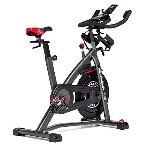 Schwinn Speedbike IC8 mit Bluetooth Indoor Cycle mit Magnetwiderstand, 100-fache Widerstandseinstellung mit Digitalanzeige, Zwift App. kompatibel, SPD-Klickpedale, max. Benutzergewicht 150 kg - 4