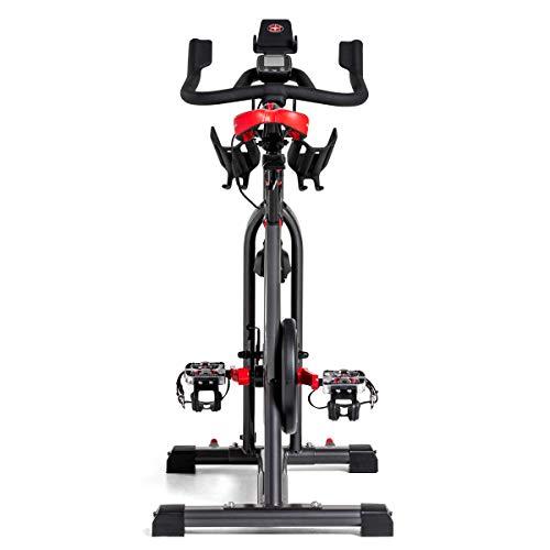 Schwinn Speedbike IC8 mit Bluetooth Indoor Cycle mit Magnetwiderstand, 100-fache Widerstandseinstellung mit Digitalanzeige, Zwift App. kompatibel, SPD-Klickpedale, max. Benutzergewicht 150 kg - 6