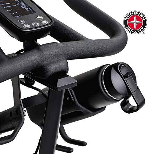 Schwinn Speedbike IC8 mit Bluetooth Indoor Cycle mit Magnetwiderstand, 100-fache Widerstandseinstellung mit Digitalanzeige, Zwift App. kompatibel, SPD-Klickpedale, max. Benutzergewicht 150 kg - 9