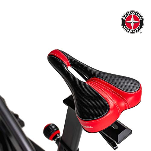 Schwinn Speedbike IC8 mit Bluetooth Indoor Cycle mit Magnetwiderstand, 100-fache Widerstandseinstellung mit Digitalanzeige, Zwift App. kompatibel, SPD-Klickpedale, max. Benutzergewicht 150 kg - 10