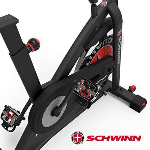 Schwinn Speedbike IC7 Fitnessbike mit LCD-Display, stabile Rahmenkonstruktion, Tablethalterung, 18 kg PWD Schwungrad, drahtlose Herzfrequenzmessung, max. Benutzergewicht 136 kg - 10