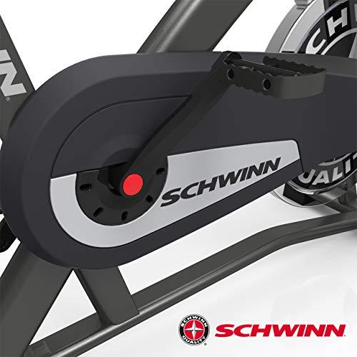 Schwinn Speedbike IC2i Fitnessbike mit LCD-Display, Performance Lenker, Direct-Drive-Getriebe, Max. Benutzergewicht 113 kg - 7