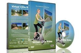 Virtuelle Fahrradstrecken - Italienische Dolomiten - für Indoor-Cycling, Laufband und Lauftrainingseinheiten -