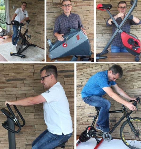 Ergometer und Heimtrainer Tests