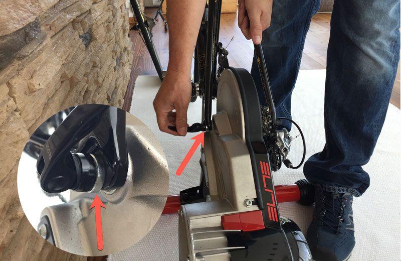 Montage eines Rennrades mit einer Hinterbaubreite von 130 Millimeter