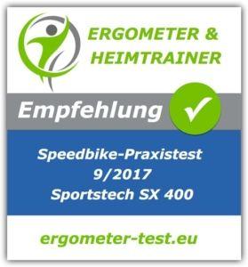 Sportstech Speedbike Testempfehlung