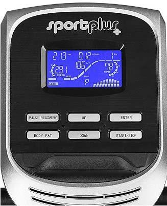 Sportplus Sitzergometer Trainingscomputer