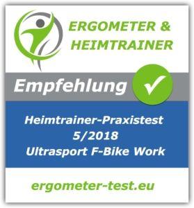 Ultrasport F-Bike Work Empfehlung