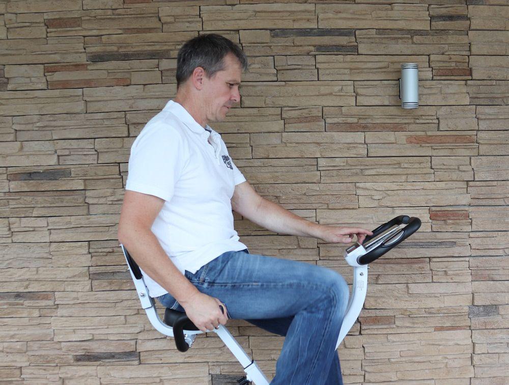 Testfahrt auf dem Sportplus Ergo X-Bike SP-HT-1004 iE.