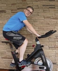 Kraft-Ausdauertraining auf dem Testbike Life Fitness IC1
