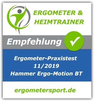 Hammer Ergo-Motion-BT-Empfehlung