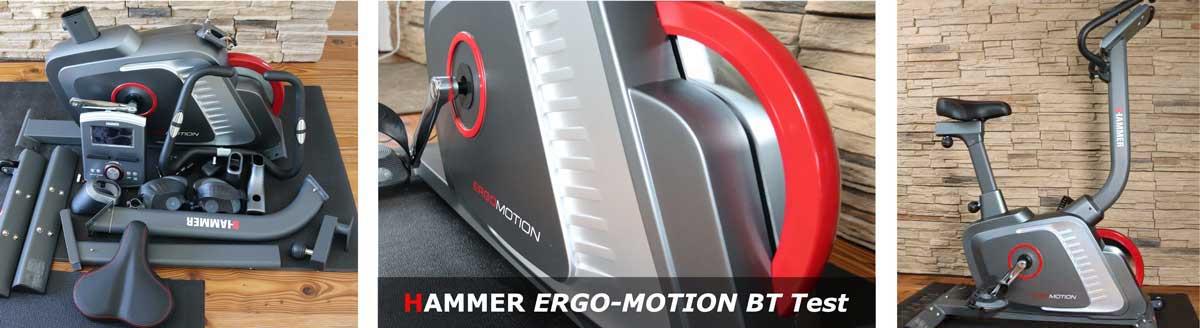 Hammer Ergo Motion Ergometer im Test